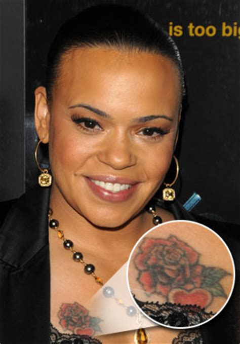 faith evans tattoo pics for gt faith on chest of biggie
