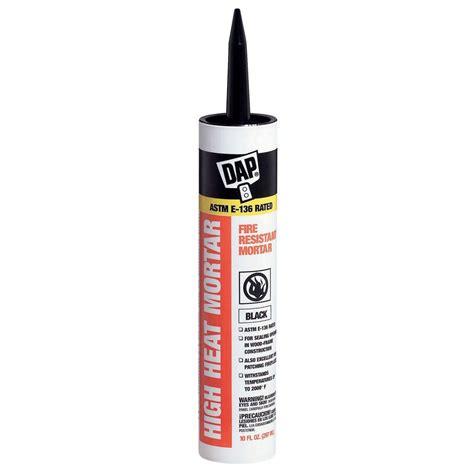 dap 10 1 oz black high heat mortar sealant 12 pack