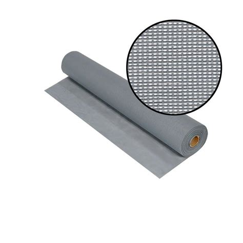 phifer 36 in x 100 ft silvergray solar insect screen
