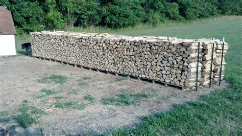 Wood Stacking Rack by Restacking Firewood The Easy Way Hearth Forums Home