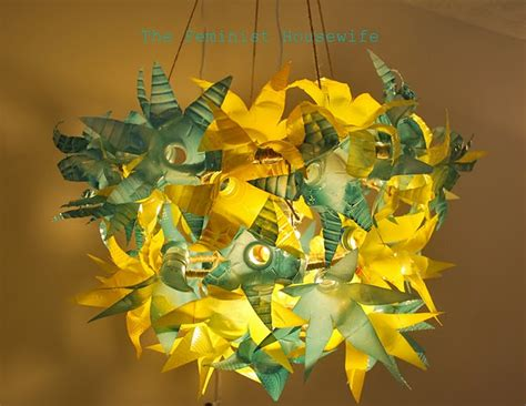 Recycled Water Bottle Chandelier Make A Recycled Plastic Bottle Chandelier 187 Dollar Store Crafts