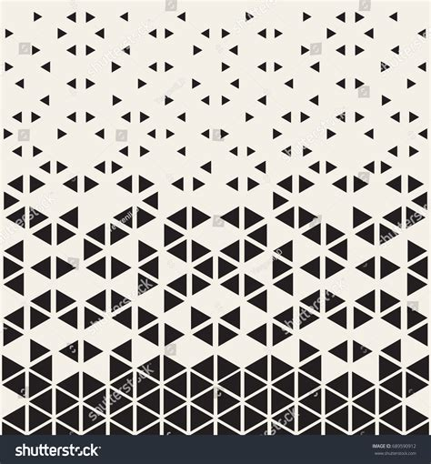 triangle halftone pattern halftone pattern geometric seamless pattern triangles