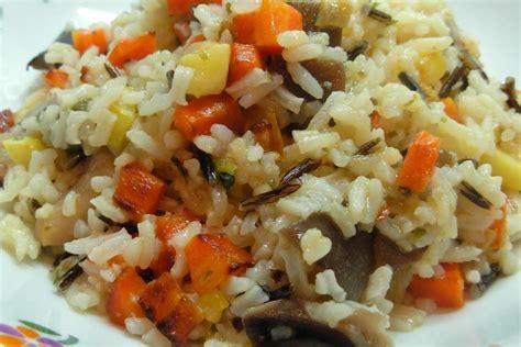 cocinar arroz salvaje receta de arroz salvaje o silvestre con pollo