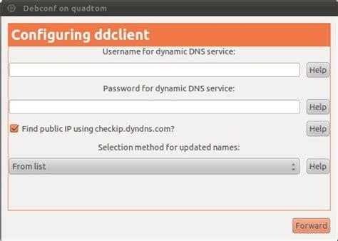 ubuntu manual dns entry free dns update client ubuntu