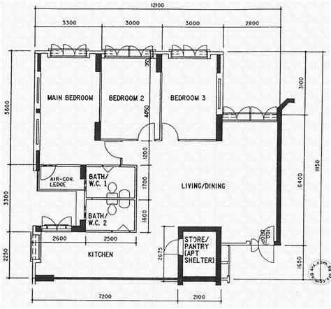 hdb floor plans floor plans for sembawang drive hdb details srx property