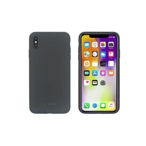 coque smoothie gris fonce apple iphone xs max ascendeo grossiste coques