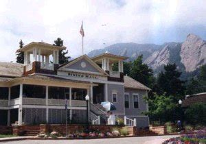 chautauqua dining hall spend your summer vacationing in the colorado rocky mountains