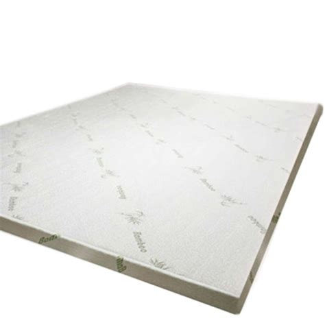 Bamboo Mattress Topper by Luxo King Single Bamboo Memory Foam Mattress Topper Buy