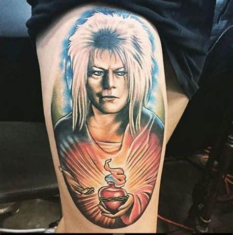 king david tattoo david bowie inked magazine ideas