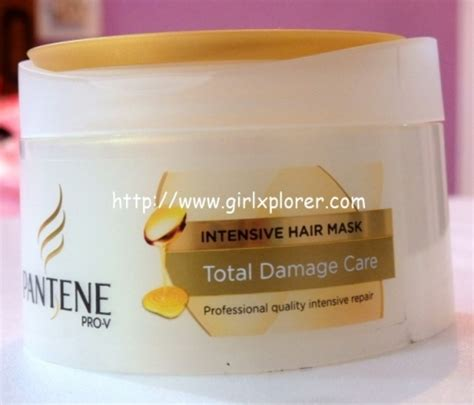 Harga Pantene Intensive Hair Mask pantene total damage care intensive hair mask review