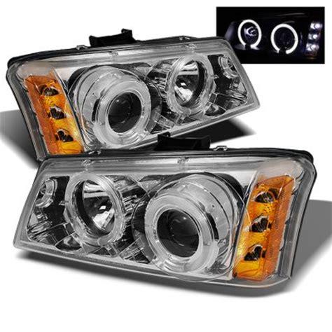 2004 chevy silverado halo lights chevy silverado 2003 2006 clear halo projector headlights
