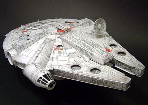 Millenium Falcon Papercraft - papercraft millennium falcon mffanrodders s