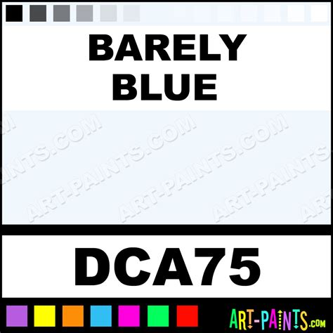 barely blue crafters foam and styrofoam paints dca75 barely blue paint barely blue color