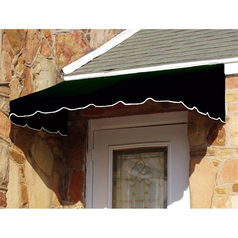 black awning shop awntech 88 5 in wide x 36 in projection black solid