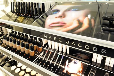 White Chandelier Shade Marc Jacobs Beauty Store Debuts At Bleecker Street In New