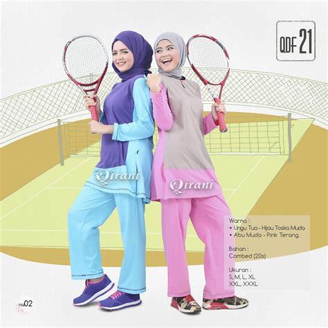 Baju Setelan Olahraga Wanita Believe Muslimah 4 setelan olahraga premium untuk muslimah elevenia