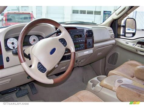 King Ranch F250 Interior by Castano Brown Leather Interior 2006 Ford F250 Duty