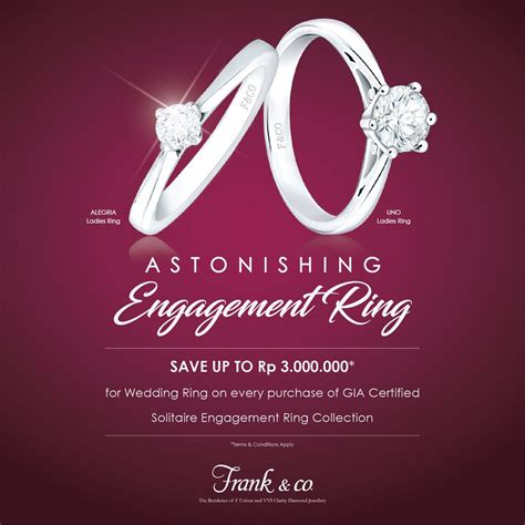 Wedding Ring Promo by Frank Co On Quot Enjoy Our Wedding Ring Promo Only