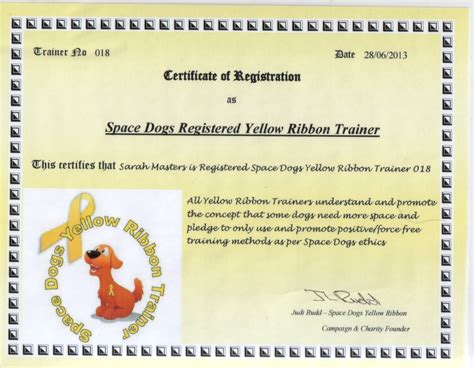 Crate Training space dogs registered trainer certificate simply paws