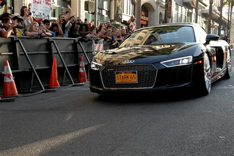 Audi A8 Spider by 2018 Audi A8 Takes Spiderman To Homecoming Premiere W