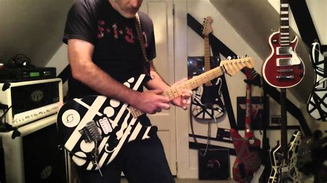 sinners swing van halen sinner s swing demo of my unchained see ya guitar replica