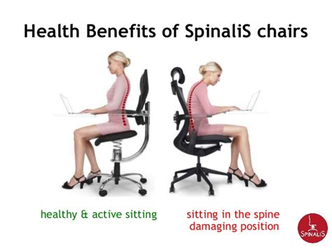 Active Sitting Chair by Spinalis Chairs For Active Sitting