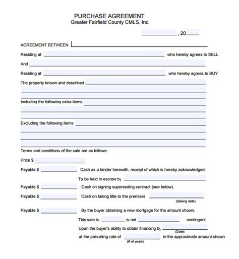 auto purchase agreement template sle vehicle purchase agreement 16 documents in pdf