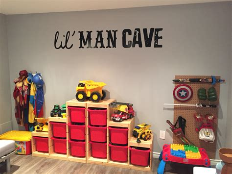 our boys playroom it really is their lil cave top