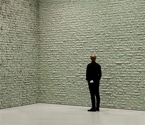 room of money a room lined with 100 000 dollars i like to waste my time