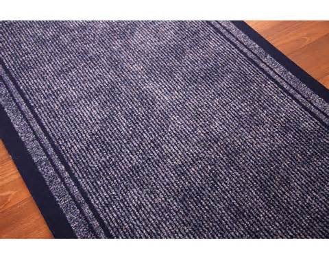 Navy Blue Runner Rug Concorde Non Slip Navy Blue Cut To Any Length Hallway Runner Rug