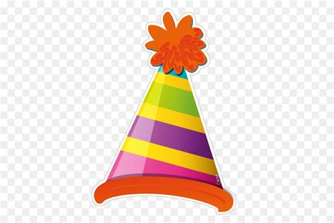 birthday hat cartoon png    transparent party hat png