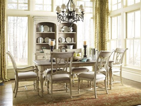 kincaid dining room set kincaid weatherford canterbury rectangular dining table