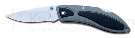 gerber lst ii pocket knife gray black handles
