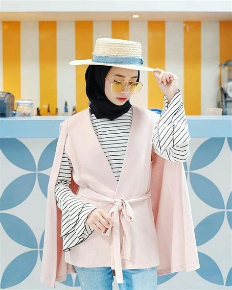 Model Baju Muslim Simple 20 trend model baju muslim lebaran 2018 casual simple dan