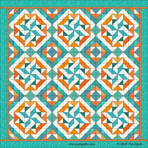 Triangle Blocks half square triangle blocks new design block 1