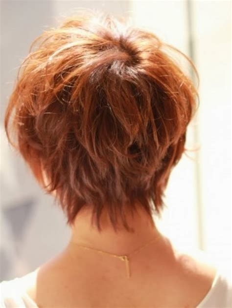 Back View Images Of Short Hair Styles On Older Woman | short hairstyles back view newest