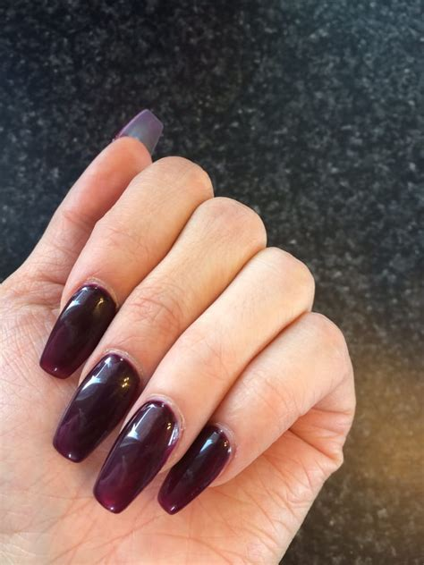 wine colored nails wine colored coffin nails yelp