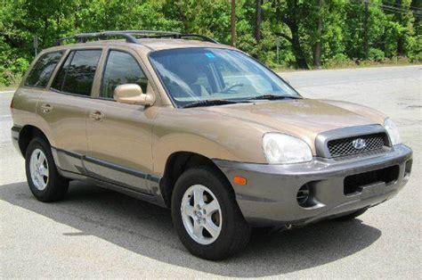hyundai santa fe base fwd dr  milford nh  stoneys auto sales carsforsalecom