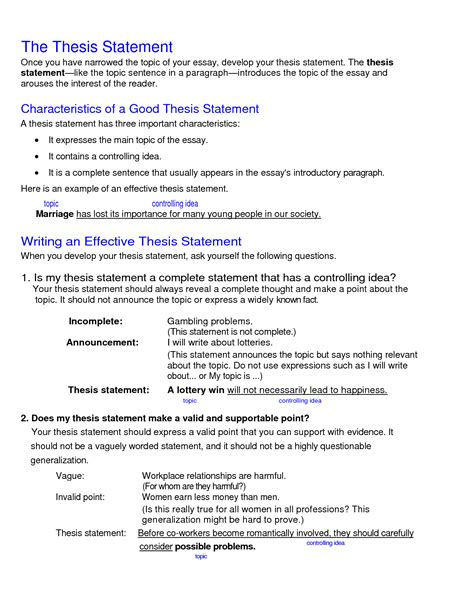 essay format with thesis statement sle thesis of school website sle website thesis
