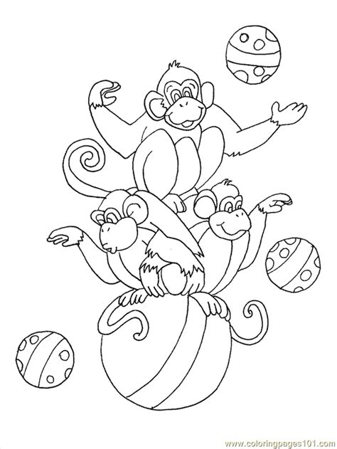 Coloring Pages Circus Animals Animals Gt Circus Animals Circus Animals Coloring Pages