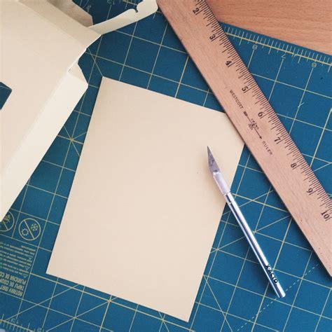cardstock cards and envelopes template diy envelope address template owl ink