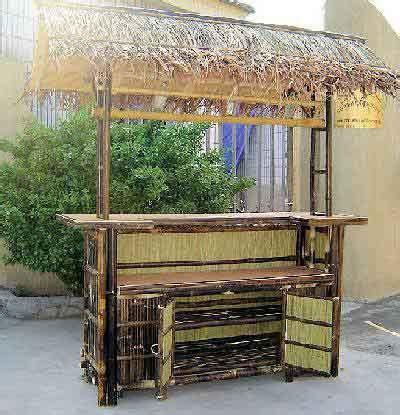 Tahiti Tiki Bar Tiki Bar Design Plans Tropical Deck Deluxe Bamboo