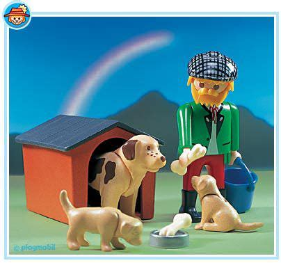 puppies n san playmobil set 3005 puppies klickypedia