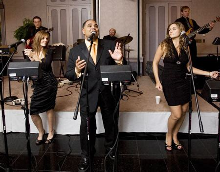 wedding band create the musical effect on wedding guests