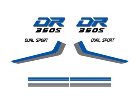 Suzuki Dr350 Decals Pin Dr 350 Dekor Designs On