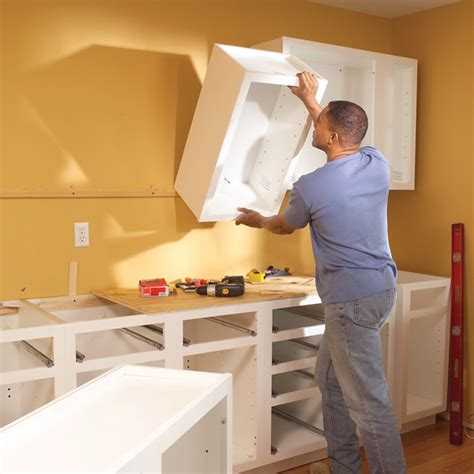 tips and tricks of installing kitchen cabinets