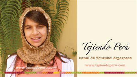 cuello bufanda en crochet paso a paso funnycat tv c 243 mo tejer una capucha con cuello paso a paso en dos