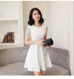 Dress Dress Pesta Putih Import Murah toko jual baju wanita import murah eveshopashop