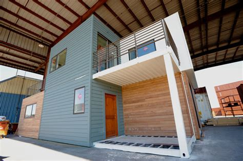shipping container homes sg blocks container home sg blocks container house debuts at west coast green