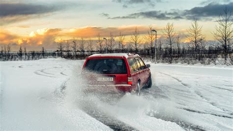 volvo 240 snow volvo 960 snow drifting volvo 960 snow drifting in the